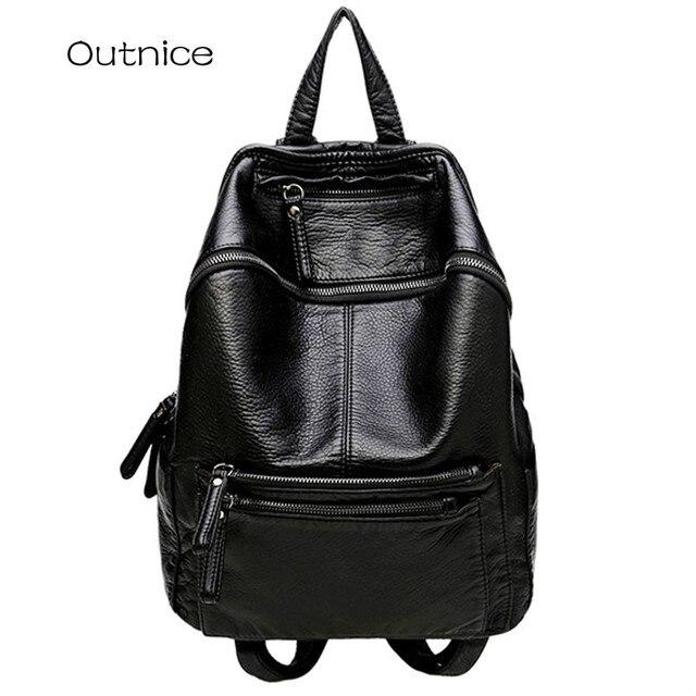 Japanese fashion feminine backpack school bags high college student  backpacks for teenage girls back pack a829b6fd5b