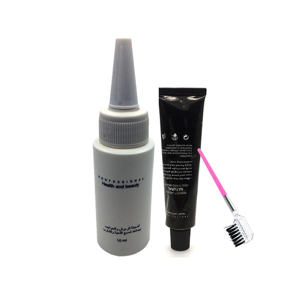 3Colors Eyelash&Eyebrow Dye Eyebrow Enhancers Mascara Cream For Eye Brow Makeup Eyelash En