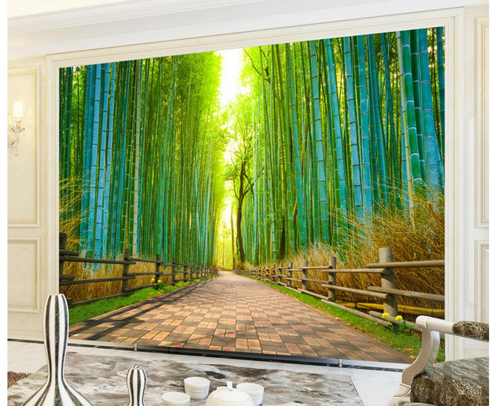3d wallpaper for room 3d bamboo bamboo landscape trail for 3d photo wallpaper for living room