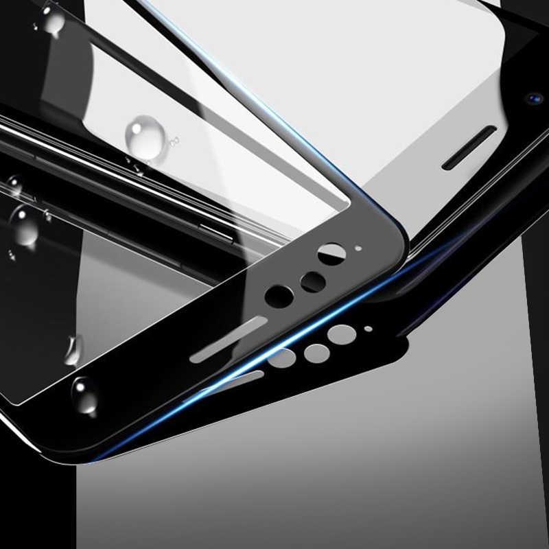 3 unids/lote cubierta completa de templado de vidrio de película para Samsung M40 M30 M20 M10 A10 A20 A30 A40 A50 A60 A70 a80 A90 A20E Protector de pantalla HD
