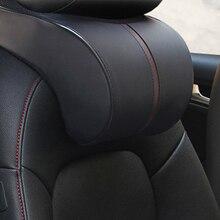 Автомобильный подголовник VODOOL из хлопка с эффектом памяти, подголовник для шеи, подголовник для безопасности сидения, Автомобильная подушка для подголовника, подушка для шеи, аксессуары для стайлинга автомобиля