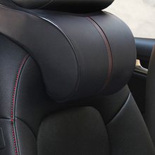 Memory Cotton Car Headrest Neck Rest Safety Seat Support Car Head Neck Rest Pillow Cushion Car Styling Accessory   недорого
