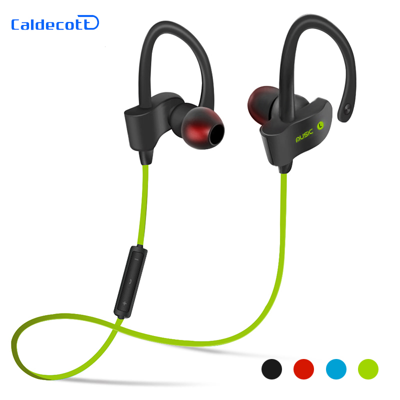 Bluetooth 4.1 Wireless Headphones Ear Hook Fashion Sport Earphones Hifi Stereo Mp3 Music Player Earbuds Headset with Microphone macaw t1000 wireless bluetooth microphone sport hifi music in ear earbuds support hands free calls nylon braided cable