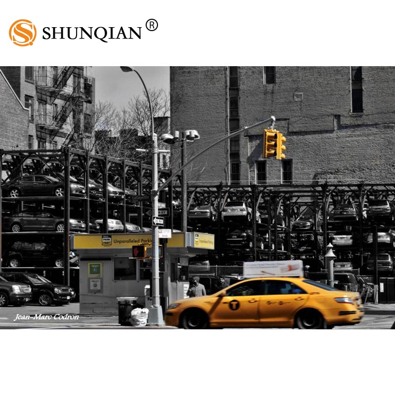 Poster New York Taxi.Custom Canvas Poster Art New York Taxi Decoration Poster Cloth