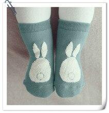 Girls Boys Baby Socks Cotton Casual Meias Infantil Anti Slip Kids Socks Rabbit Design