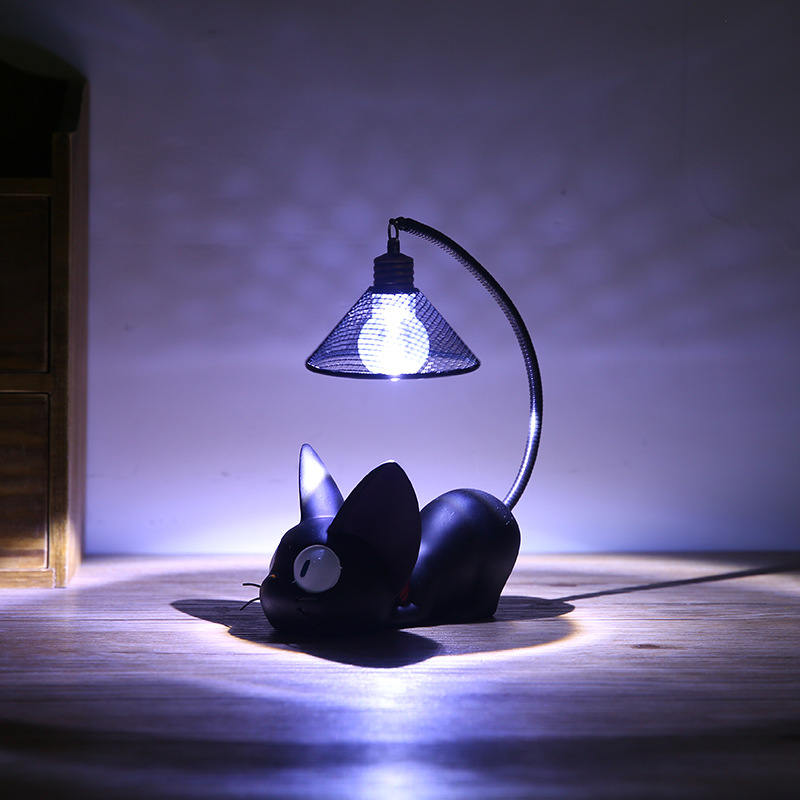 Little black cat night light 3