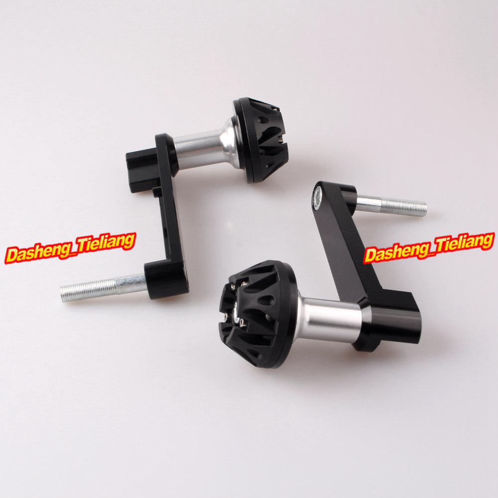 Frame Sliders Crash Pads Protector for Honda CBR 1000RR 2008 2009 2010 2011 2012 2013 CNC Aluminum Alloy, Black for honda cbr 1000rr cbr1000rr 2008 2009 2010 2011 gold motorcycle frame slider crash protector bobbins falling protection