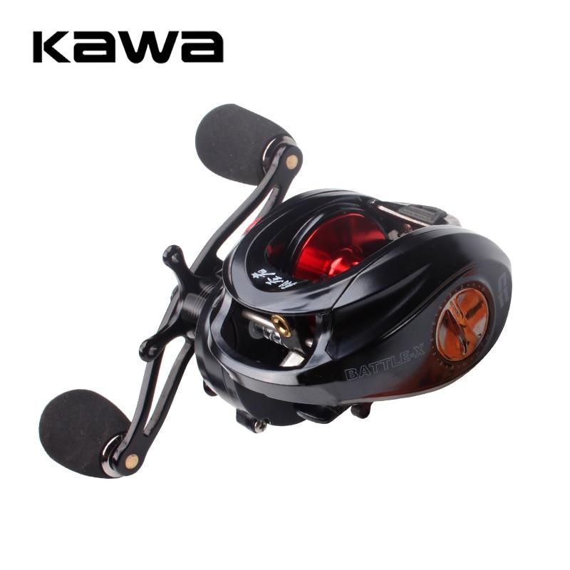 2018 Kawa Fishing Reel Bait casting Reel Water-drop Reel Magnetic Brake 10+1 Bearings Metal Handle EVA Knob Max Drag 10KG
