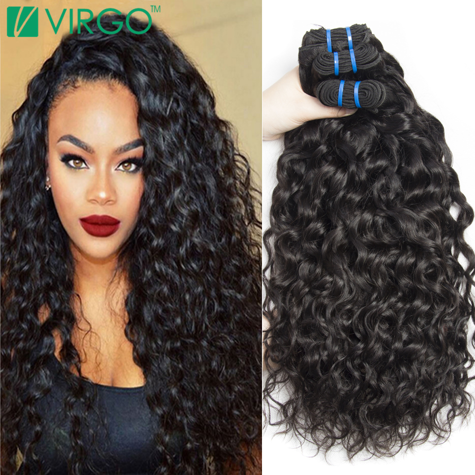 Brazilian virgin hair water wave natural curly weave human hair 4 brazilian virgin hair water wave natural curly weave human hair 4 bundles wet and wavy virgin brazilian hair in hair weaves from hair extensions wigs on pmusecretfo Images