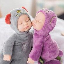 25 см мини-кукла для новорожденных, игрушки для детей, силиконовая кукла для детей, Реалистичная кукла детская игрушка