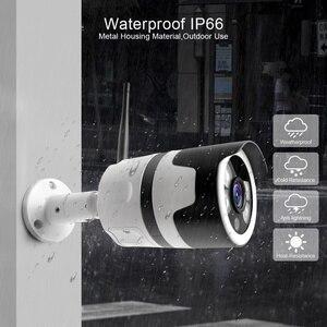 Image 3 - HD 1080P 5MP Bullet WiFi IP Camera ONVIF Wireless Outdoor Night Vision 20m CCTV Security Camera Two Way Audio Alarm P2P CamHi