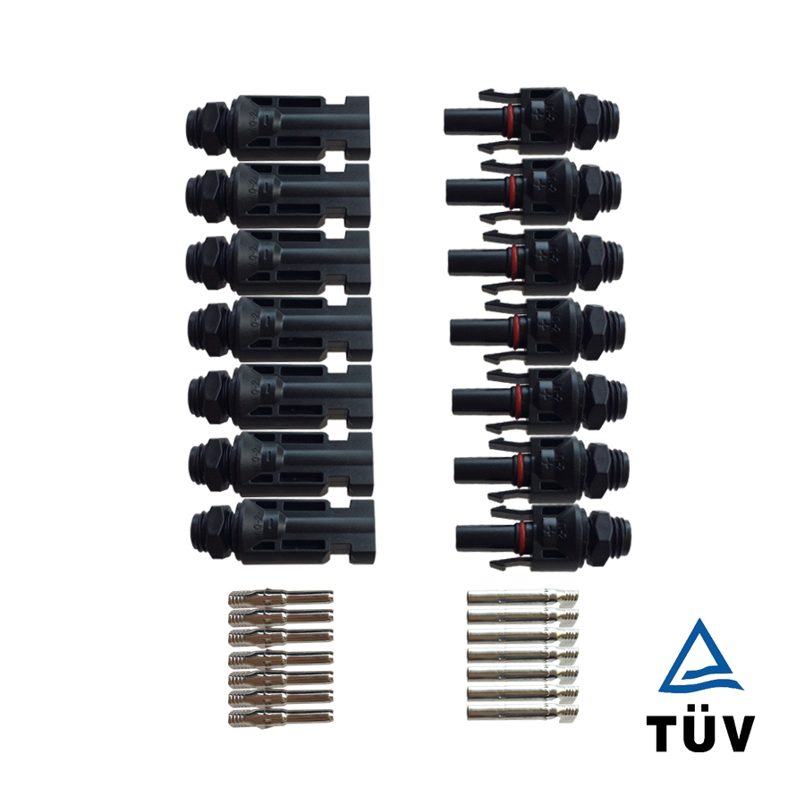 50 pairs MC4 connectors  for solar panels photovoltaic pv coupler