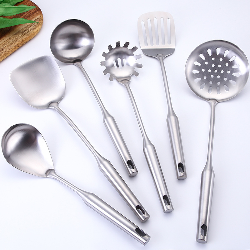 US $7.25 35% OFF|Stainless Steel Cooking Tools Utensils Cookware Kitchen  Turner Soup Spoon Pasta Server Strainer Rice Spoon Kitchenware-in Cooking  ...