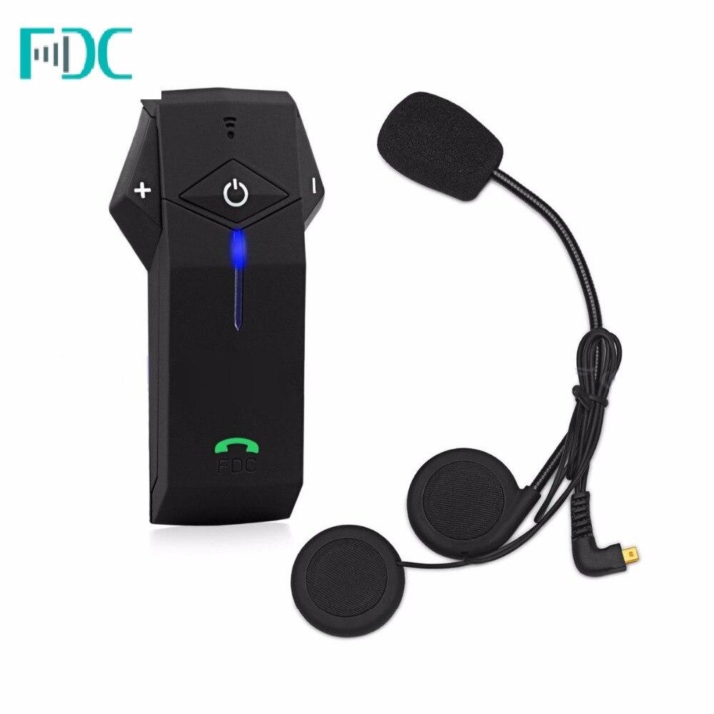 Étanche Bluetooth Casque Interphone Interphone Avec NFC et FM Radio Pour Moto Casque Freedconn