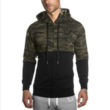 2017 Fashion Winter Camouflage Sweatshirt Hooded Tracksuits military Men's Hoodies Fitness Clothing Male Jackets Sportswear
