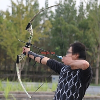 Straight Pull Bow Scenic Outdoor Competition Sports Archery Competitive Leisure Entertainment Shooting Bow