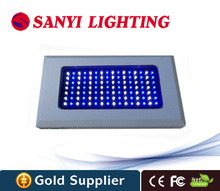 120w aquarium led grow plant light for Marine Reef Corals 112leds high power led aquarium lamp with white blue 460nm