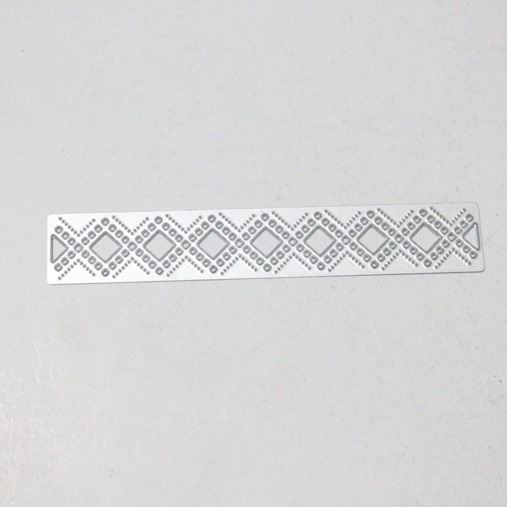 HamyHo Metal Cutting Flower Lace Frame Stencil for DIY Scrapbooking ...
