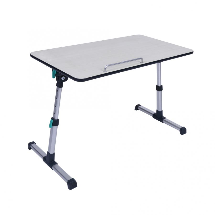 Image 2 - Adjustable Laptop Desk for Home Laptop Stand Portable Standing Desk Laptop Computer Table Foldable Sofa Breakfast Bed Tray Table-in Laptop Desks from Furniture
