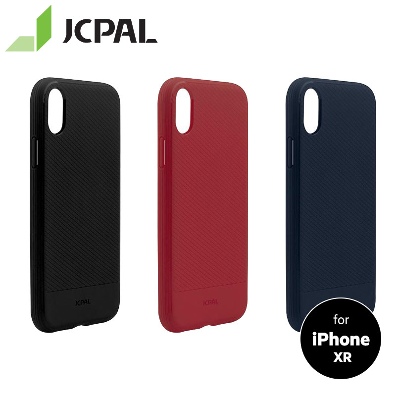 JCPAL iGuard Rebound Case for iPhone XR The Fade-resistant TPU Material Anti-Knock Shell Slim and Flexible TPU Case iPhone XR