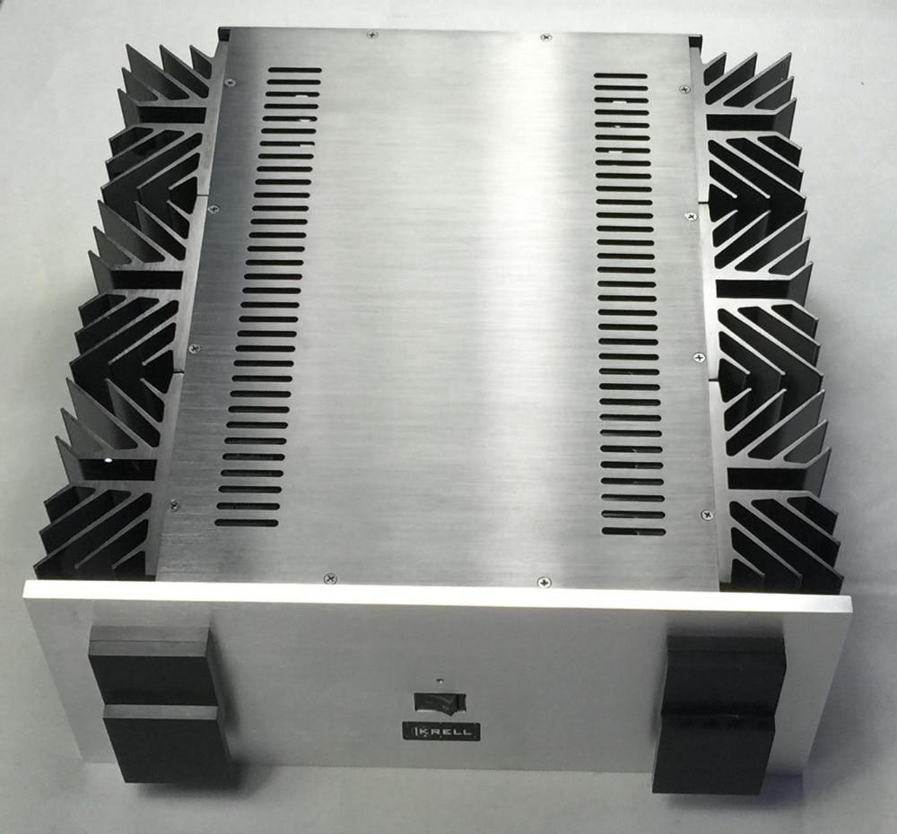 цена KSA-250 KRELL appearance CNC Full aluminum amplifier chassis/case BOX DIY