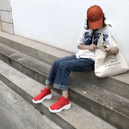 La Hip Marée Street 3 Haute Chaussures 2018 Les 1 Plates Chaussettes Pour Beat Femmes Aider 2 Respirant De Coréenne Version Nouveau Hop wP8OBW4qB