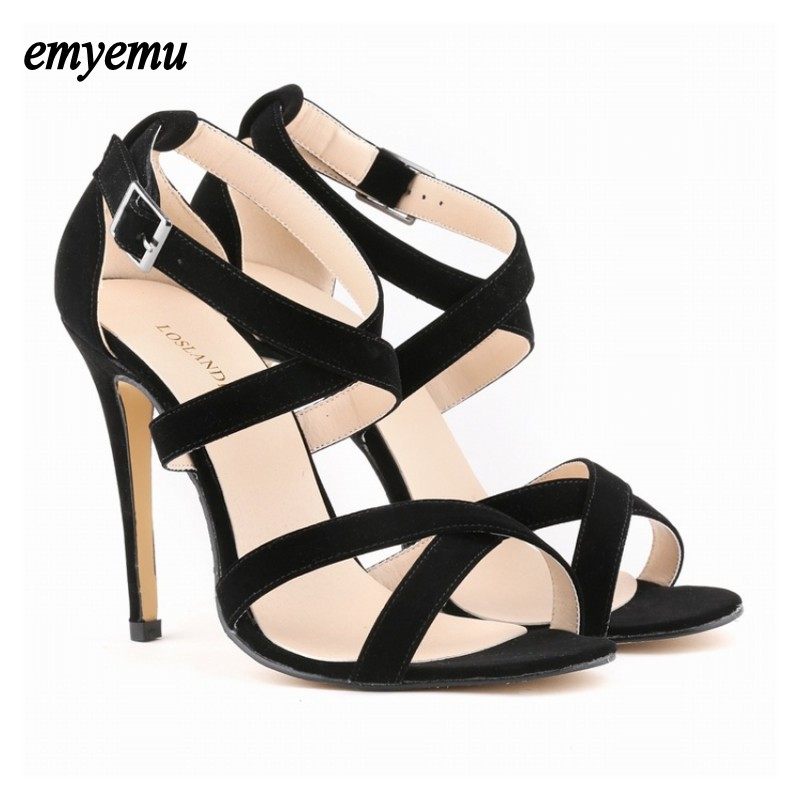Women Pumps candy color open toe Shoes Sandals thin High Heels Cut Outs Shoes Summer Open Toe sexy Girl  party heels Plus size42  2016 retro cut outs design women summer boots open toe sandals plus size 41 42 43 44 45 thin heels summer shoes free shipping