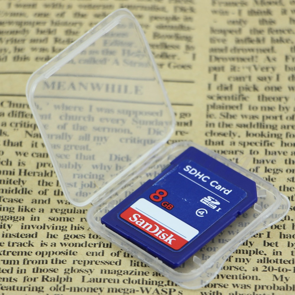 10pcs/set Deek Robot Memory Card Case Plastic Storage Box Flash Memory SD Card Holder Protector Storage Box Cover