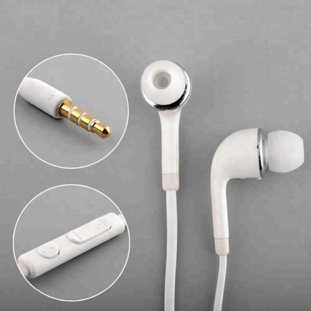 J5 麺スポーツ 3.5 ミリメートル有線イヤホンで耳ステレオラインハン三星電子ギャラクシー S5 S3 Note2 xiaomi iphone