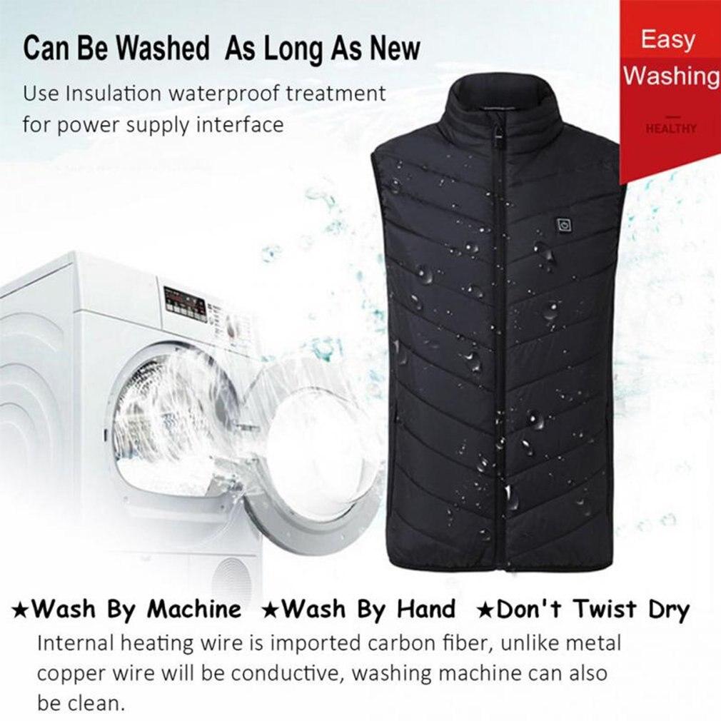 Gilet de chasse confortable USB chauffage veste chauffante chauffage vêtements d'hiver hommes vêtements de plein air thermiques