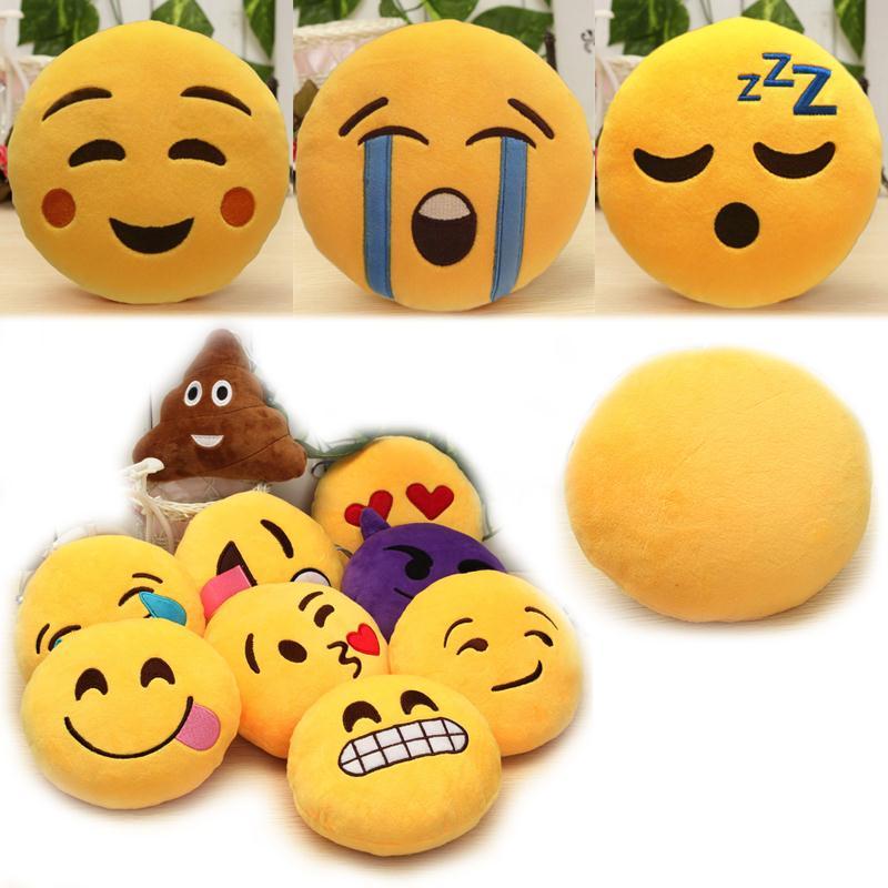 Μόδα 6 ίντσες Lovely Emoji Smiley Μαξιλάρια - Αρχική υφάσματα - Φωτογραφία 2