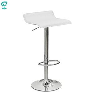¡Novedad de 94525! Taburete de Bar giratorio de cocina de cuero Barneo N-38, silla blanca marrón, envío gratis en Rusia
