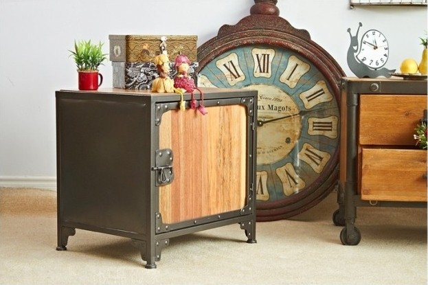 French rural retro to do the old wrought iron lockers bedside cabinet drawer storage cabinets creative bookcase cabinet Chests  цены