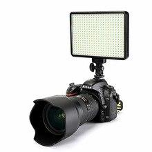 30W 5600 K/3200 K Kamera 396 Ampuller LED Video Işığı Lambası Kısılabilir Fotografik Aydınlatma canon Nikon Pentax DSLR Kamera
