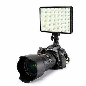 Image 1 - 30W 5600K/3200K en cámara 396 bombillas LED, lámpara de luz de vídeo, iluminación fotográfica regulable para cámara Canon, Nikon, Pentax, DSLR