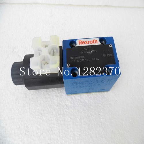 [SA] New original authentic special sales Rexroth solenoid valve 4WE6D70 / HG24N9K4 spot стоимость