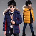 children's clothing boy winter jackets waterproof windproof warm kids outerwear coat cotton padded thicken down jacket for boy