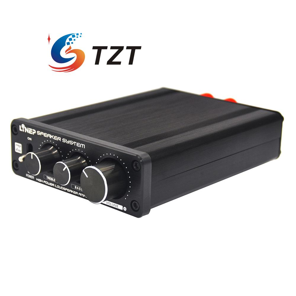 136W Digital amplifier HiFi Stereo Audio Signal Amplifier Treble Bass with Power Adapter A928 tps5103evm 136