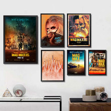 Mad max Fury road Posters White Coated Paper Prints Wall Stickers Home Decoration Modern Style Home Art Brand(China)