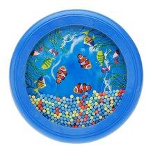 Океанская волна бусина барабан нежное море звук музыкальное образование игрушка инструмент для детей, дети, ребенок
