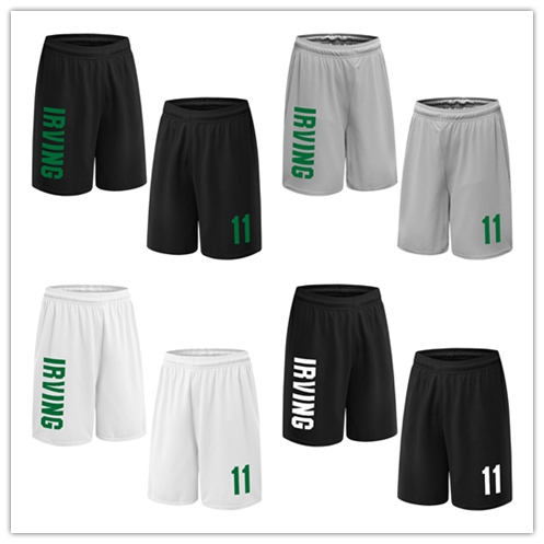 9fc7d7e96e356 BONJEAN Design Men 11 Kyrie Irving Print Basketball With Pockets Quick Dry  Breathable Training Running Sport