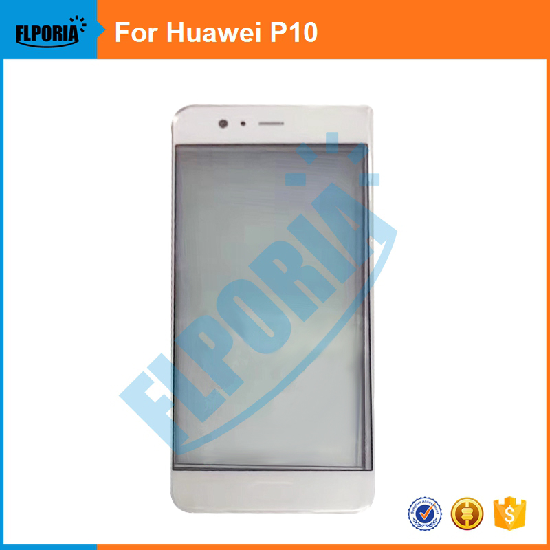 1PCS For Huawei P10 New Good Quality Front Outer Glass Lens Touch Panel Screen Without LOGO Replacement Parts