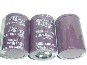 Image 3 - 10pcs 470uF 450V NIPPON NCC Serie KMH 35x50mm 450V470uF condensatore Elettrolitico di Alluminio