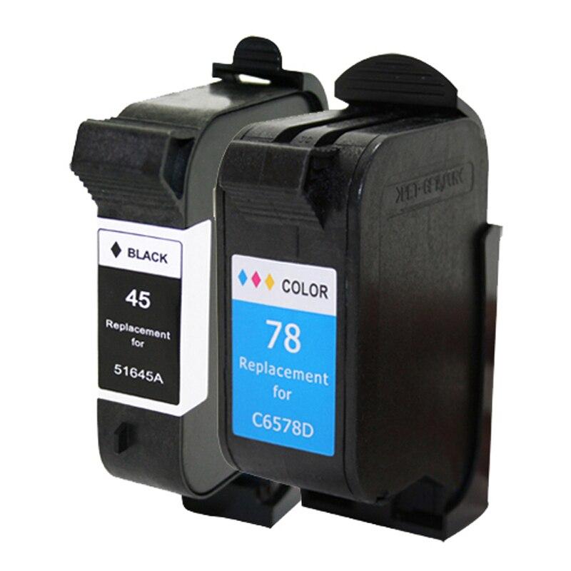 Cartuchos de Tinta hp 180 280 1220c 3810 Color : Black / Tri-color