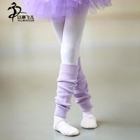 Ballet dance warmers leg wool boots socks solid short style winter girls sock childern dance accessories