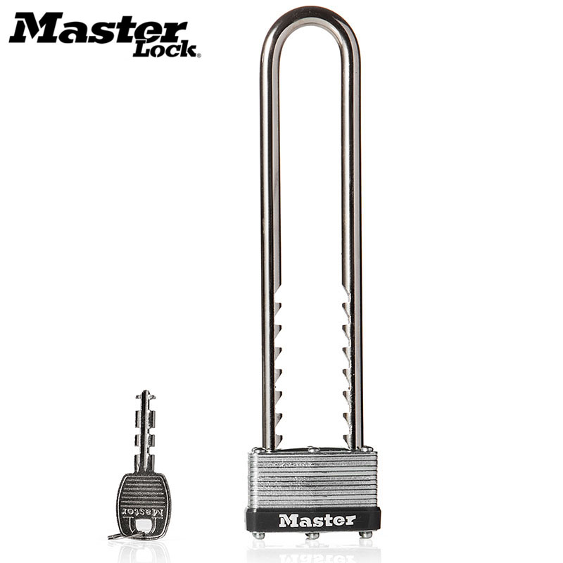 Master Lock U Shape Lock Adjustable layer padlock Shackle Bike Lock Laminated Steel Warded Anti-theft Lock home Warehouse Garage цена