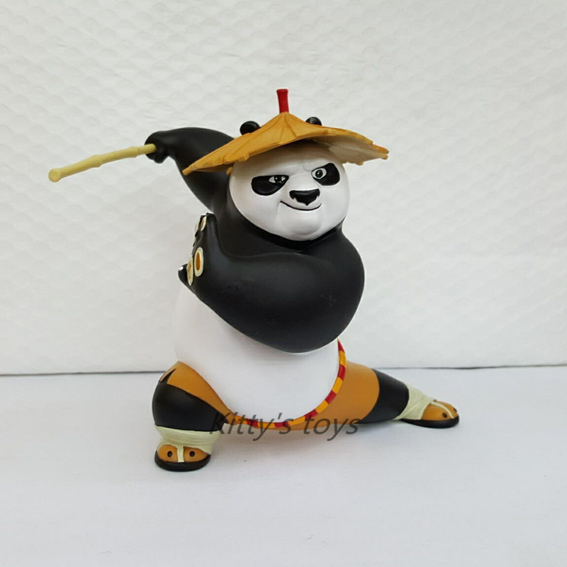 2016 New Arrival 20 cm Kung Fu Po Panda Dragon Warrior Comics PVC Action Figures Toy for Kids Birthday Gift KB0241 kung fu panda 3 po piggy bank pvc action figure collectible model toy kids gift 18cm