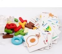 Vroeg Leren Kaart Reader Brief Dier Card Kinderen Herkennen Letters Legpuzzels Intelligentie Speelgoed