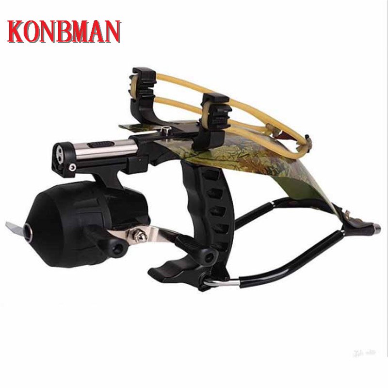 Fishing Slingshot for Hunting Catapult with With Fishing Reel Dart Outdoor Shooting Slingshots High QualityFishing Slingshot for Hunting Catapult with With Fishing Reel Dart Outdoor Shooting Slingshots High Quality