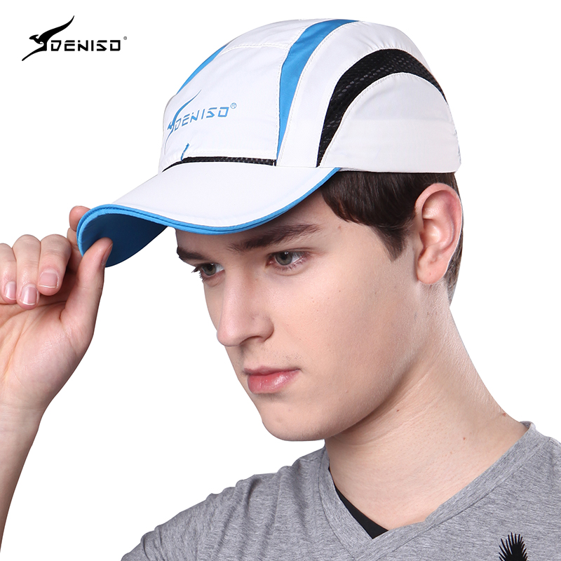 Male Summer Baseball Cap UV Protection Sunscreen Breathable Hat Youth Outdoor Baseball Hat Students Leisure Peaked Cap B-8063